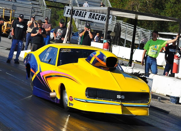 2010 Bickel 68 Camaro Ex Troy Coughlin Ex Jeff Naiser Car  for Sale $130,000