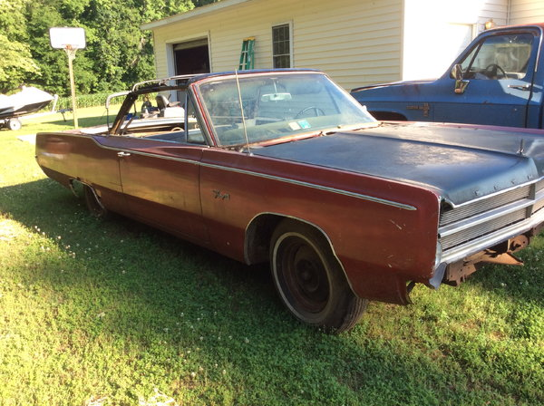 1967 Plymouth Fury III  for Sale $4,000