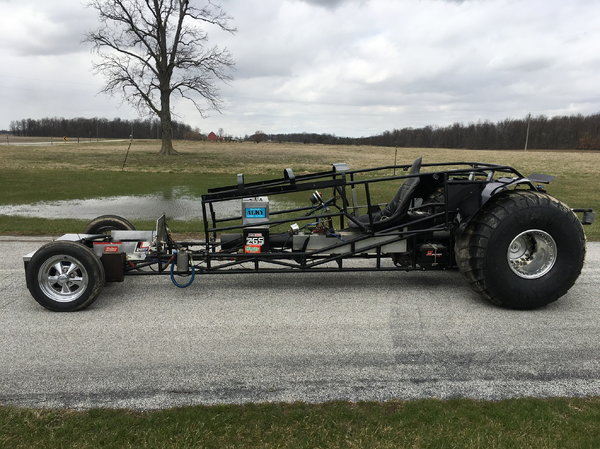 TWD ROLLING TUBE CHASSIS PLANETARY REAREND.