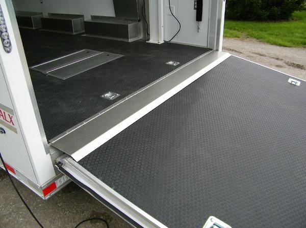 2019 Haulmark HARS 8.5x24 Aluminum Stacker