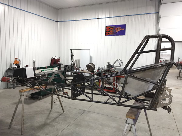 """125"""" Funny Car - Altered Chassis  for Sale $14,900"""
