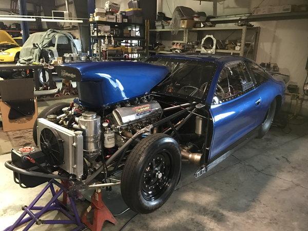 Older Mountain Motor Pro Stock