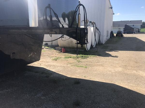 43 ft Aluminium race trailer
