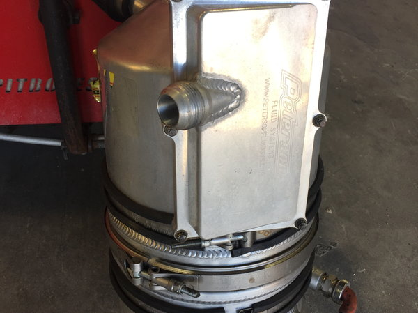 Peterson oil tank  for Sale $550