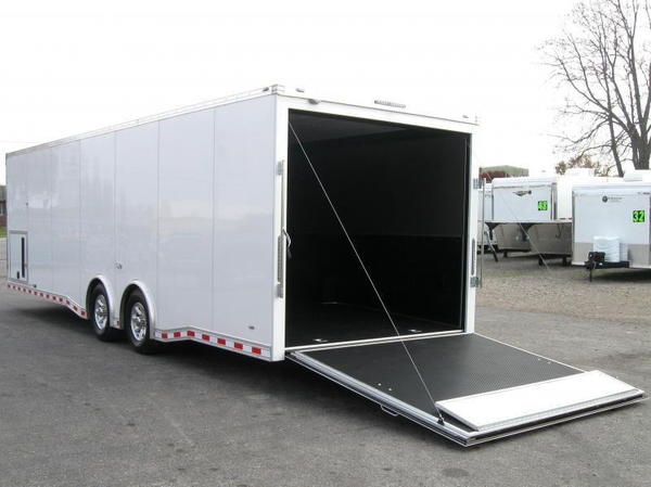 Ready 2019 28' Millennium Extreme Trailer 2/6K Spread Axles