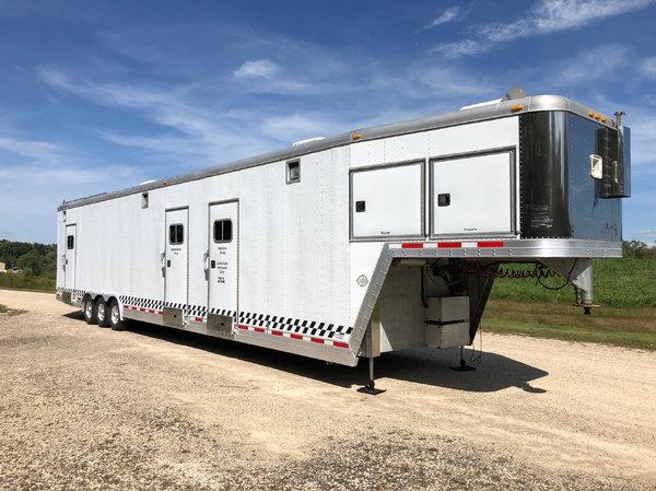 50' Featherlite race trailer