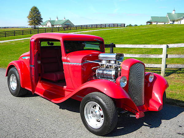 Real Deal All Steel 32 Plymouth Street Rod