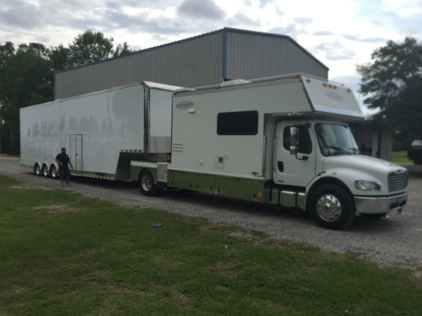 2006 Freightliner Renegade M2 and 2016 44ft Cargo Mate  for Sale $105,000