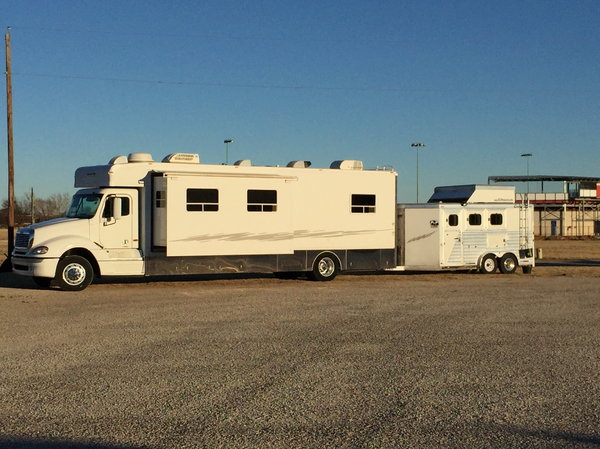 2004 Freightliner Columbia Haulmark Conversion Price Reduced  for Sale $85,000