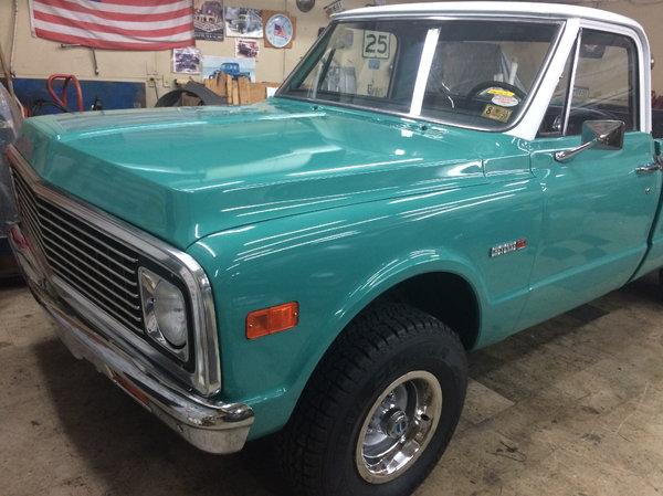 1972 chevy c10 pickup