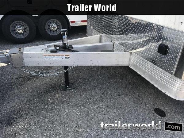2021 Cargo Mate Eliminator 28' Aluminum Race Trailer  for Sale $24,995