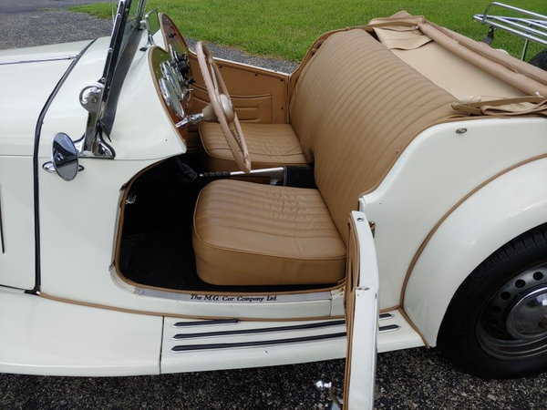 1952 MG TD  for Sale $22,400