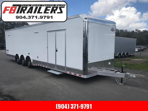 2019 34'  Aluminum Frame LOADED Eliminator Race Trailer by C  for Sale $28,499