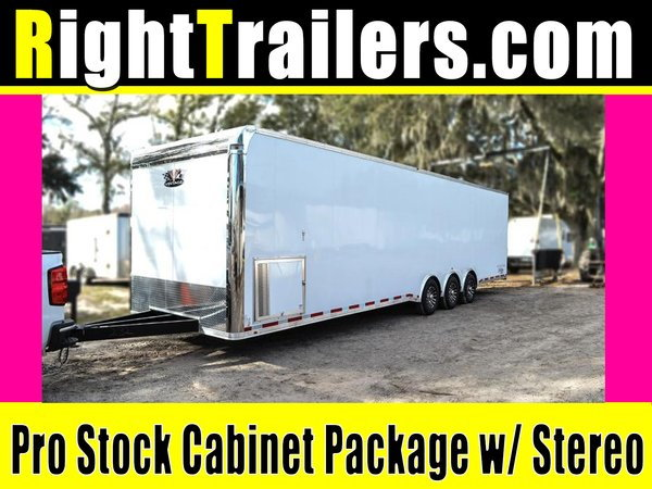 2021 Pro Stock Elite 34' Trailer - Dragster Lift -Loaded OUT