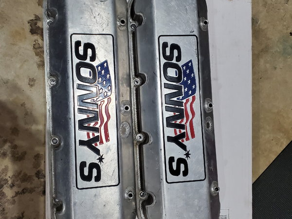 Sonny's racing engines all aluminum 555ci 93 octane  for Sale $23,000