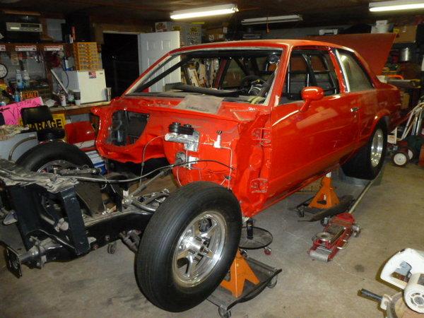 1980 Chevrolet Malibu Drag Car Project  for Sale $19,900