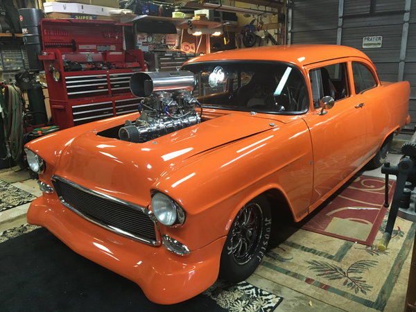 1955 chev  for Sale $48,500