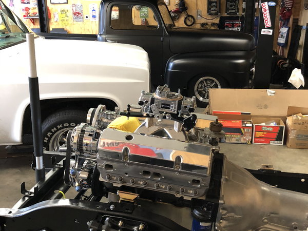 """Crate 383 Stroker and 700 RS, """"all new"""""""