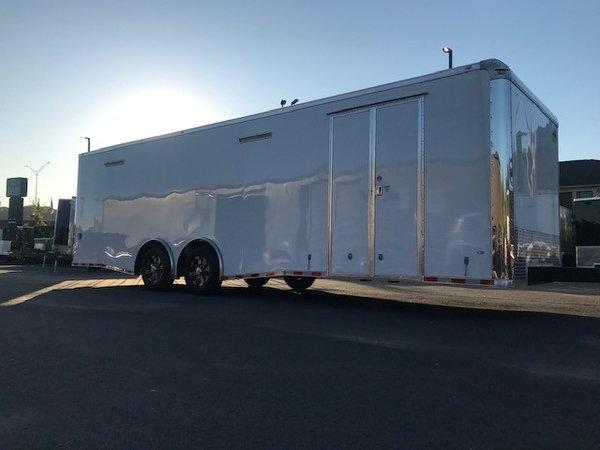 2019 Covered Wagon 8.5X28 Race Trailer