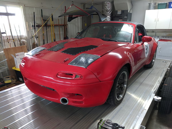 1995 Miata Turbo HPDE Car  for Sale $17,000
