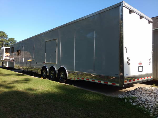 2017 Cargomate 48' with LQ with (3) 7000# axles  for Sale $49,900