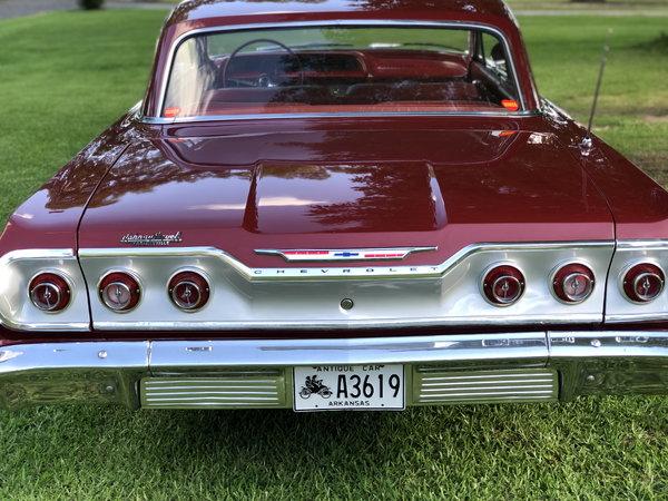 1963 Impala, SBC crate motor, Muncie 4 speed, Super conditio