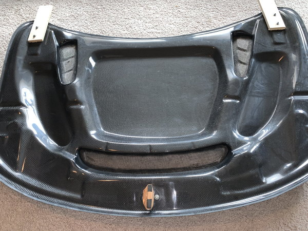 Black Op's Carbon Fiber Hood for Jeep Wk2 2011-2020  for Sale $800