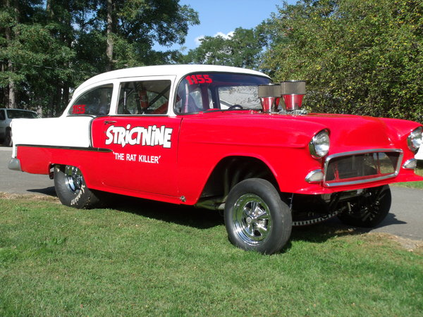 1955 Chevy Gasser – Former Cover of Car Craft Magazine