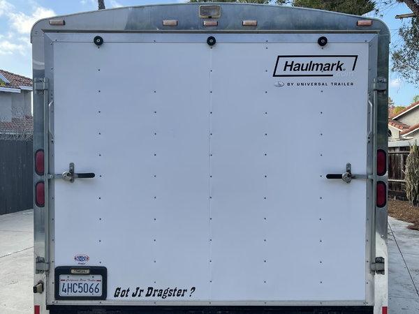 "24"" Enclosed Haulmark Trailer - LOADED!  for Sale $11,950"