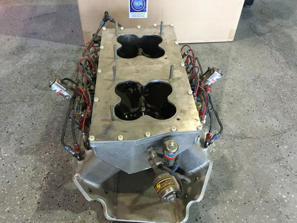 Monte Smith/Speed Tech BBC Sheet Metal Intake  for Sale $1,200
