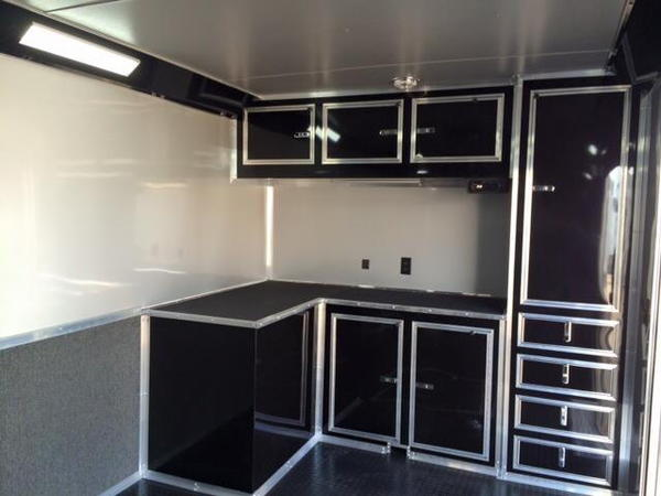 2020 32'  LOADED CONTINENTAL CARGO BLACKOUT RACE TRAILER  PH  for Sale $23,500