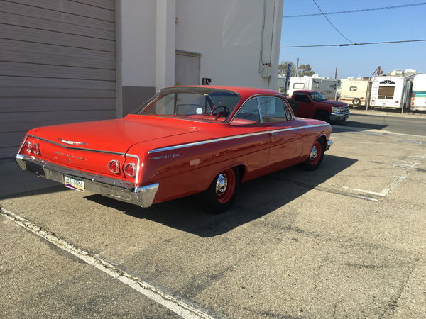 1962 Chevrolet Bel Air  for Sale $75,000