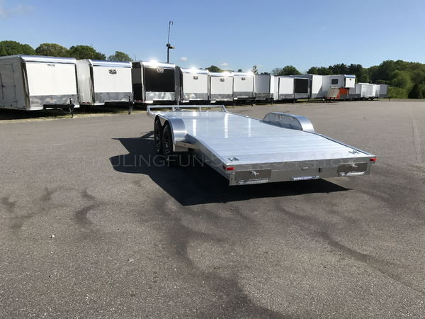 18' ALUMINUM CAR TRAILER  for Sale $6,800