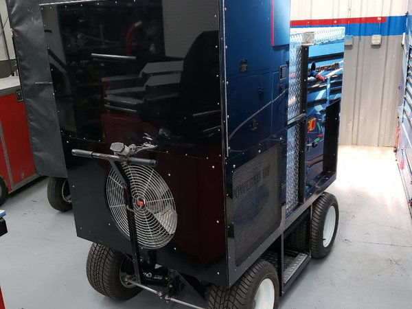 Used Cool Down Unit/Generator Cart  for Sale $9,500