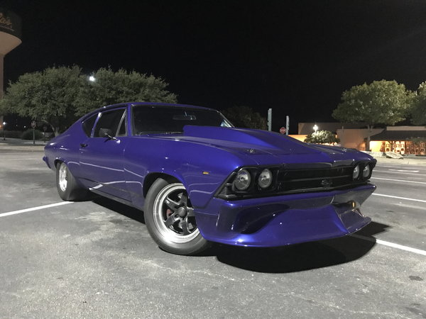 Twin Turbo LS '69 Chevelle  for Sale $50,000