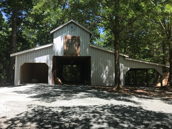 3 acres and barn Reduced