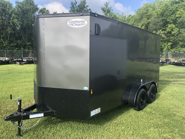 New 2020 7' x 14' Continental Cargo Trailer