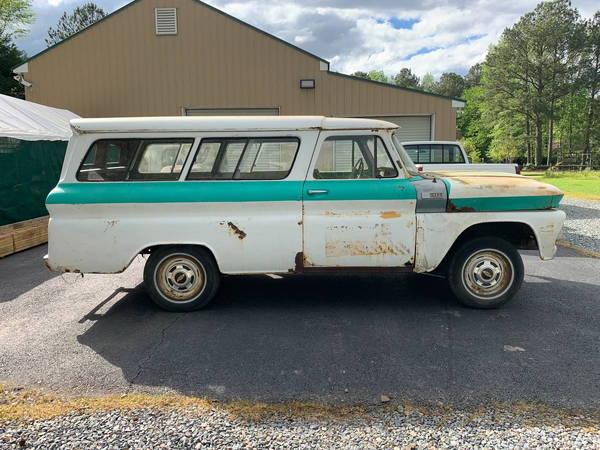 1964 Chevy Carryall / suburban 2 door