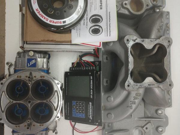 BBC , Mega 450 , Quick Fuel 1150 QFX-4711A Misc Parts for Sale in