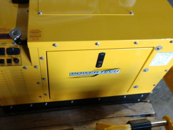 PowerTech 8KW Generator Low Hours  for Sale $4,750
