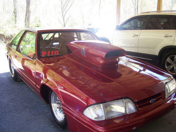 1993 lx mustang tube chassis all glass  for Sale $25,000