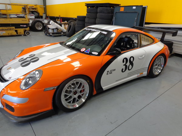 2009 GT3 Cup Car 997  for Sale $65,000