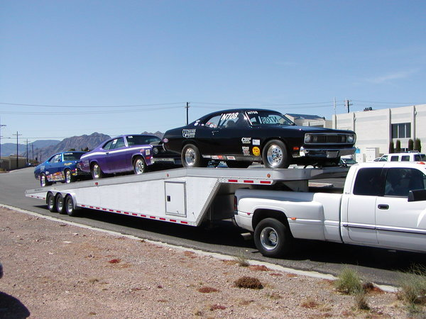 1999 Featherlite 50' 3 car gooseneck Aluminum Trailer  for Sale $14,000