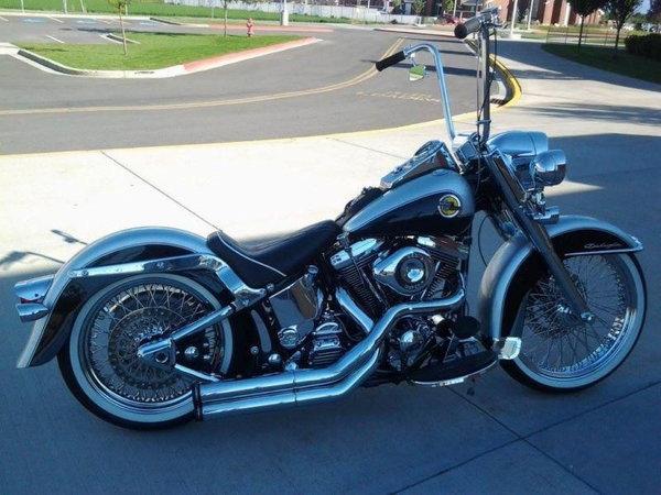Harley Davidson Softail Custom   for Sale $13,000
