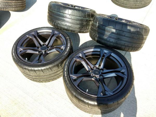 "20"" Chevy Camaro ZL1 2019 OEM Hyper Graphite SS wheels   for Sale $2,000"