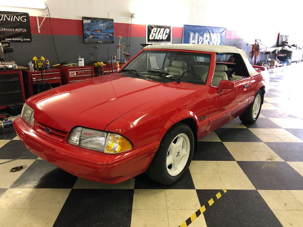 1992 Ford Mustang  for Sale $13,500