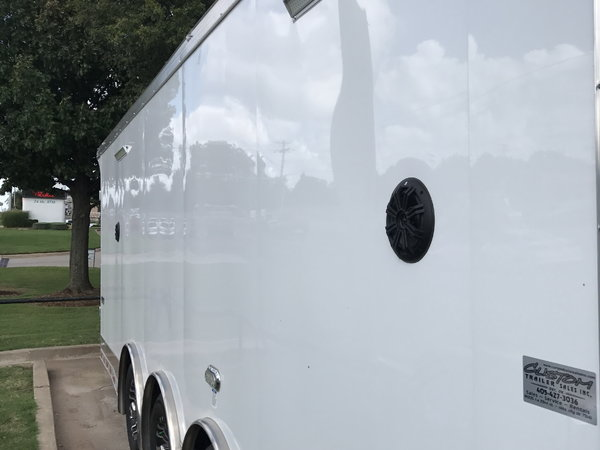 2019, 8.5'X30' CONTINENTAL CARGO TRIPLE AXLE ENCLOSED TRAILE  for Sale $22,995