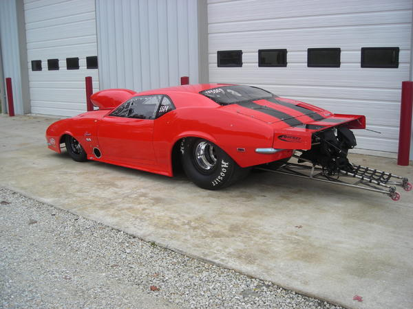 2009 1968 JBRC Pro-Mod Camaro   for Sale $82,000