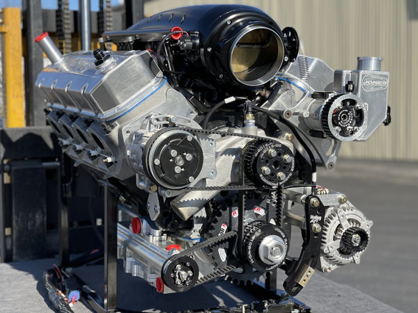 3,000 hp rated, R/T Twin Turbo Big Block Chevy Engine  for Sale $68,000