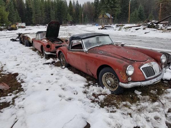 1958 MG MGA  for Sale $2,300